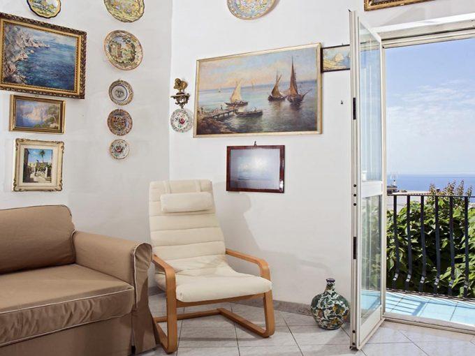 Salotto Casa Maria Capri