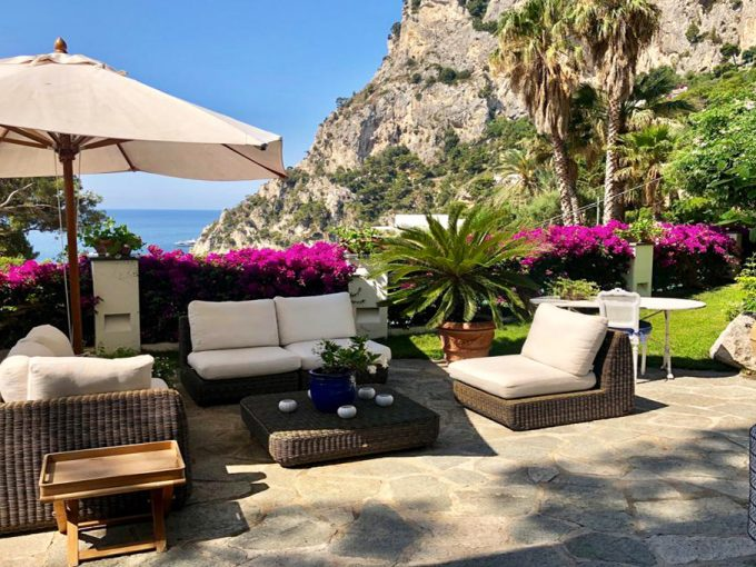 Terrazzo Casa Bianca Capri