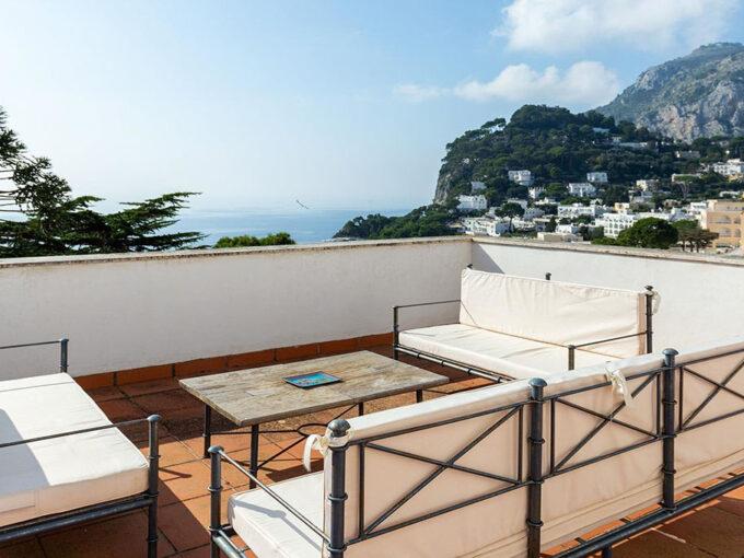 Terrazzo Villa Bianca Capri